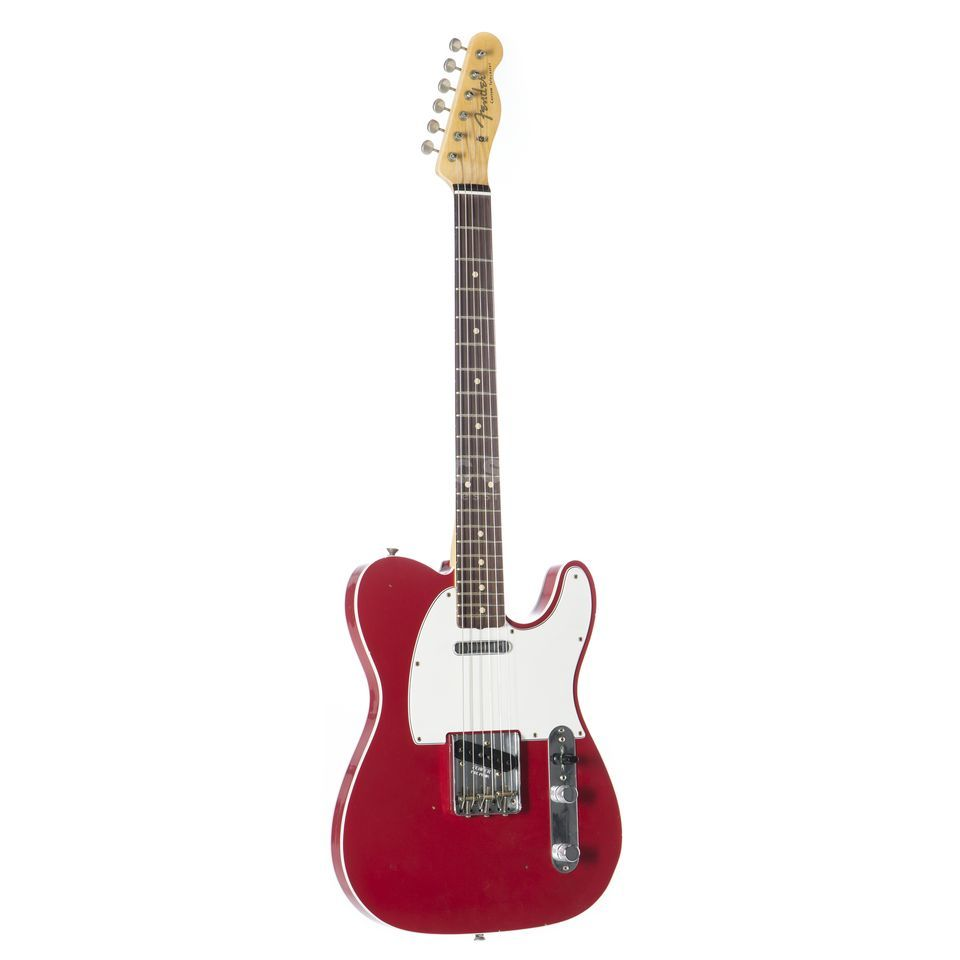 Fender '60 Telecaster Custom RW Journeyman Relic Dakota Red #R89224 Productafbeelding