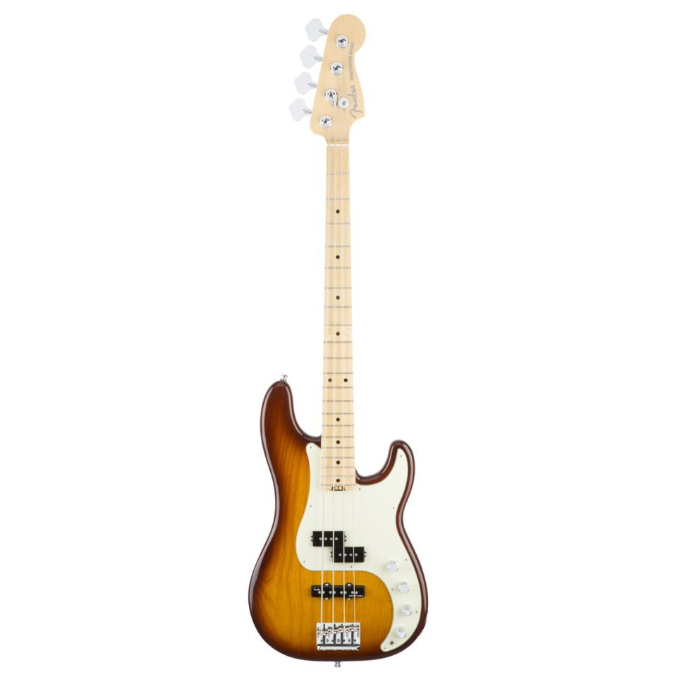Fender American Elite Precision Bass Ash MN Tobacco Sunburst Εικόνα προιόντος