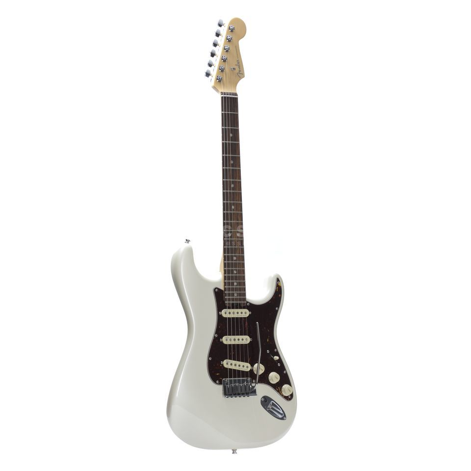 Fender American Elite Stratocaster RW OLP Olympic Pearl Produktbillede
