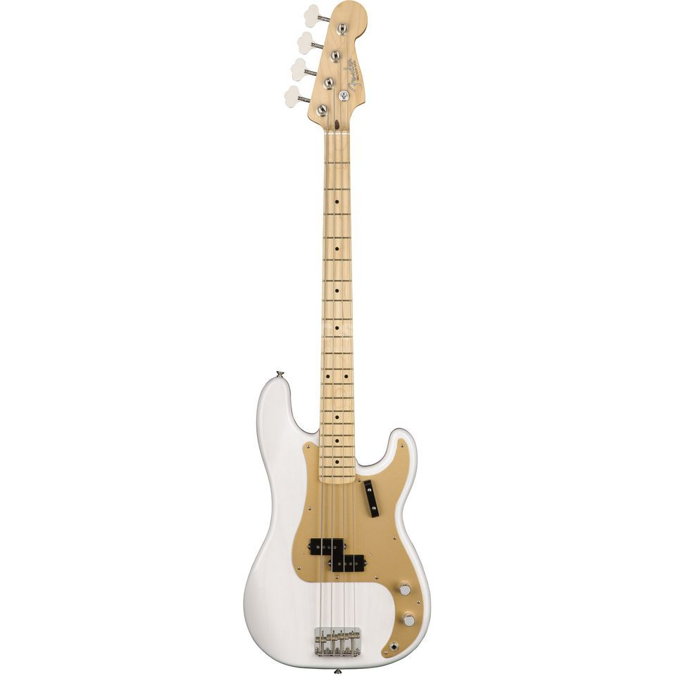 Fender American Original '50s Precision Bass MN White Blonde Product Image