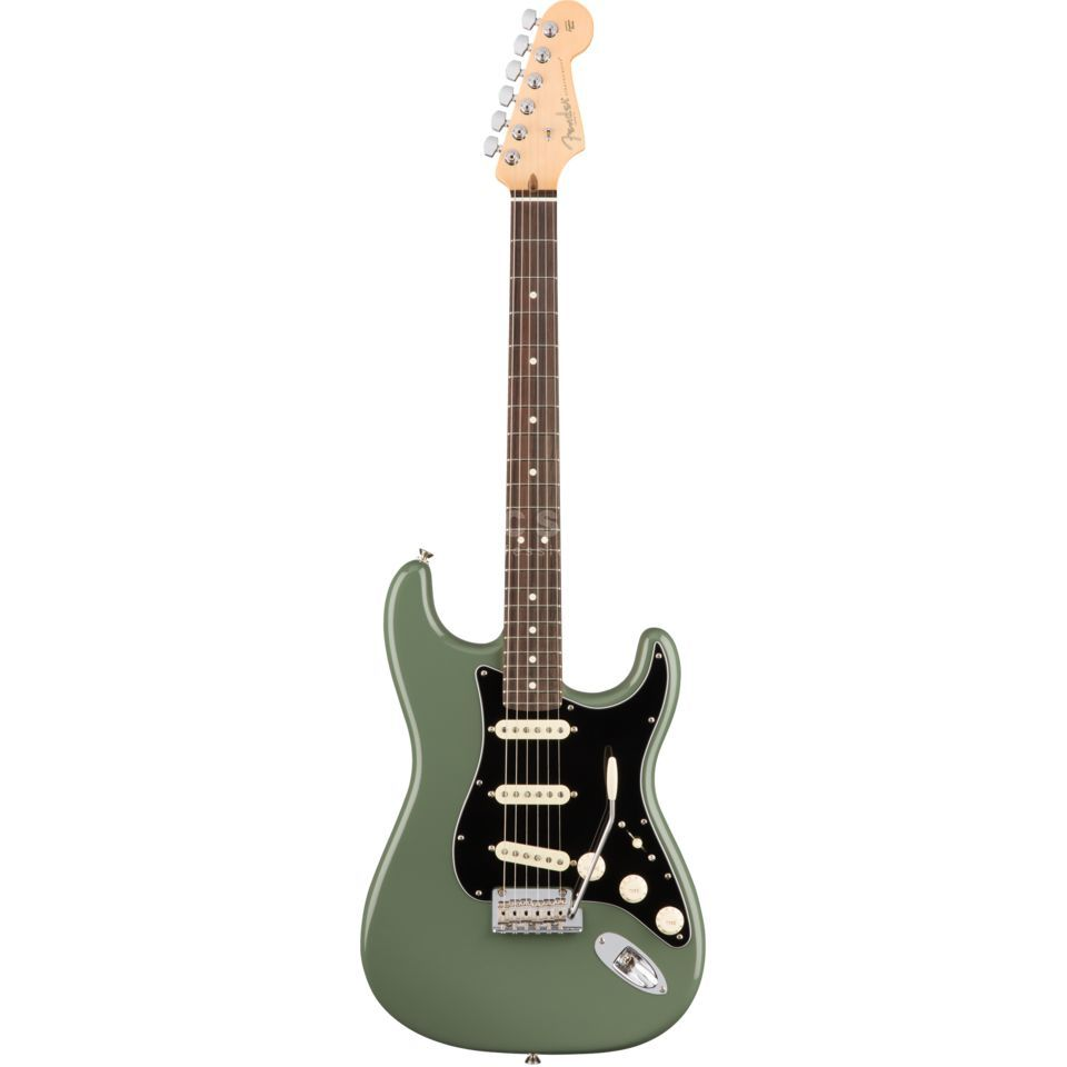 Fender American Professional Stratocaster RW Antique Olive Produktbild