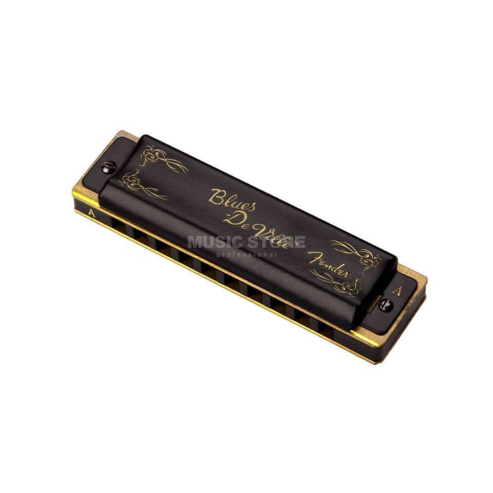 Fender blauws DeVille Harmonica Key of A Productafbeelding