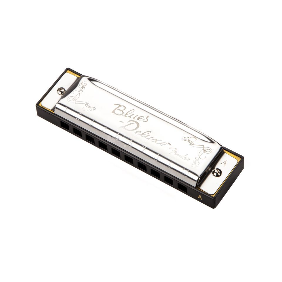 Fender Blues Deluxe Harmonica Key of A Immagine prodotto