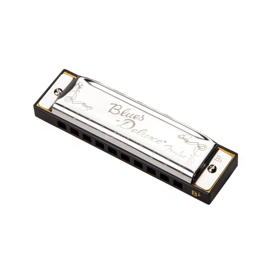Fender Blues Deluxe Harmonica Key of B Flat Изображение товара