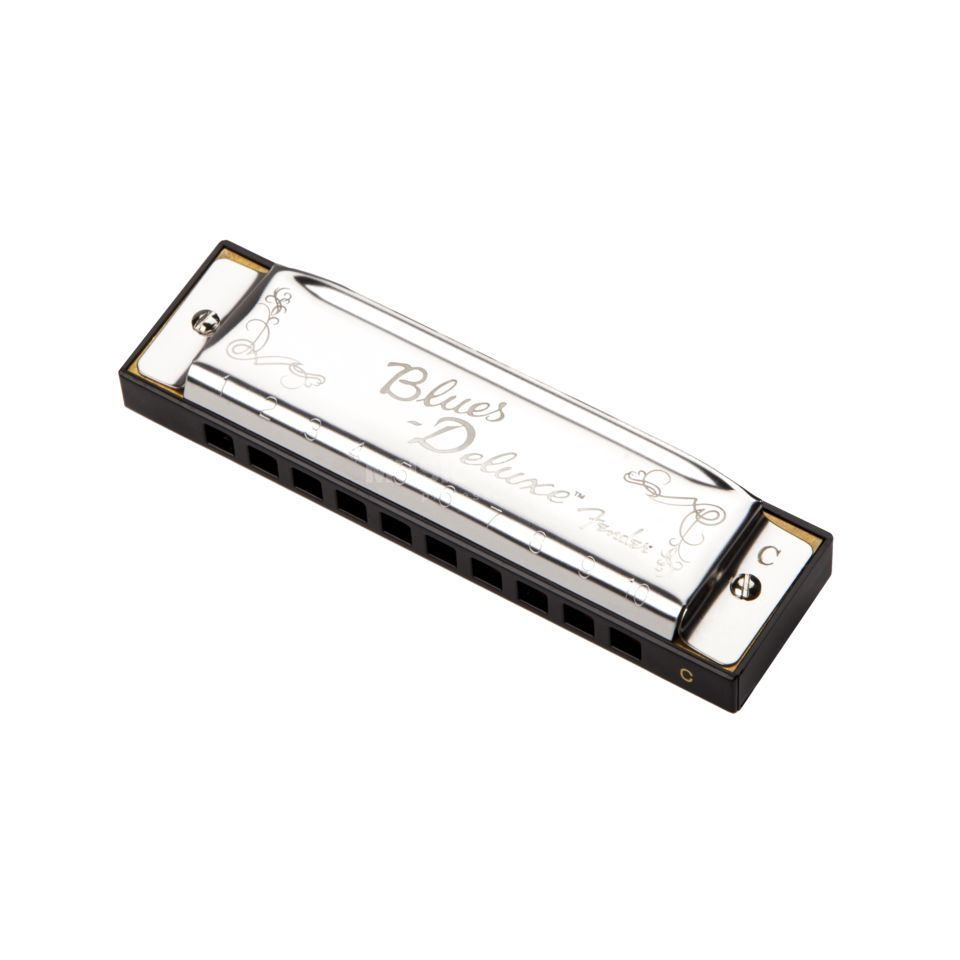 Fender Blues Deluxe Harmonica Key of C Zdjęcie produktu