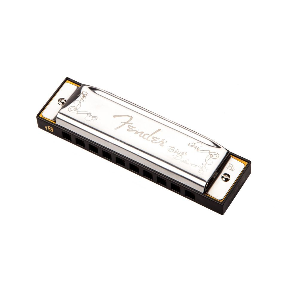 Fender Blues Deluxe Harmonica Key of D Produktbild