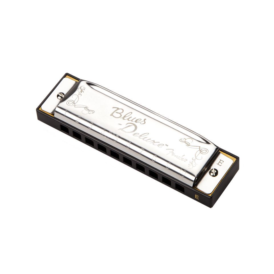Fender Blues Deluxe Harmonica Key of E Immagine prodotto