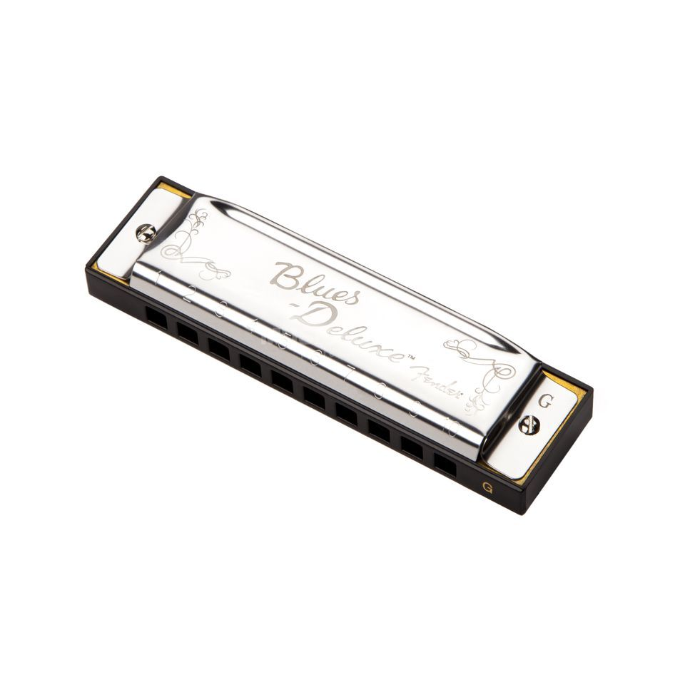 Fender Blues Deluxe Harmonica Key of G Zdjęcie produktu