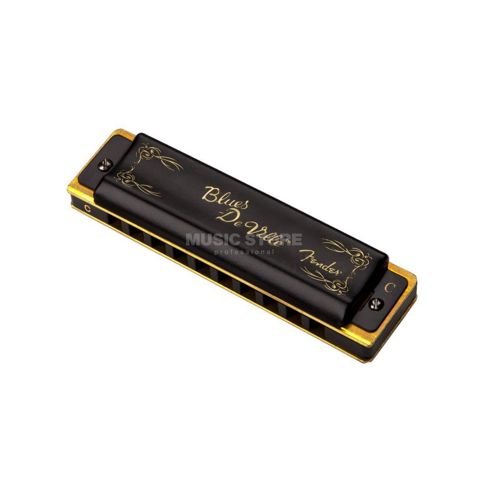 Fender Blues DeVille Harmonica Key of C Immagine prodotto