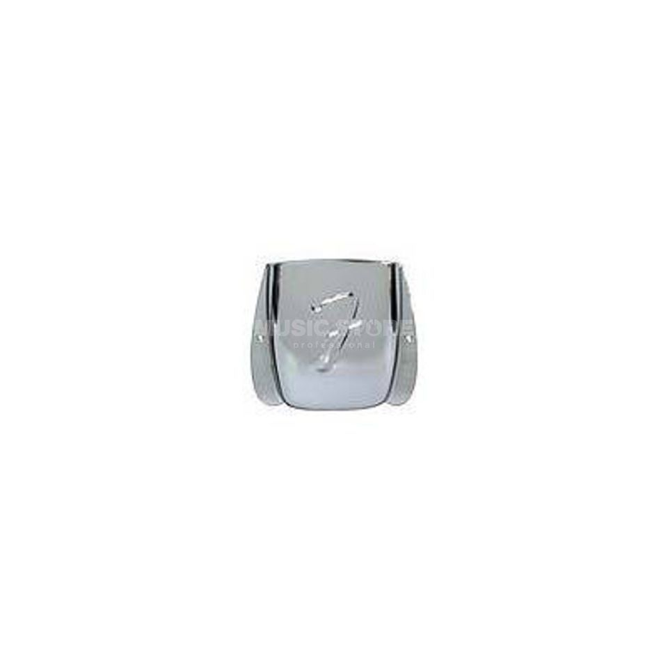 Fender Bridge Cover Jazz Bass Chrome Product Image