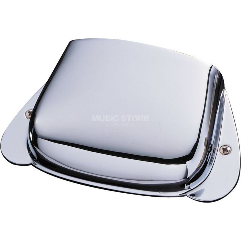 Fender Bridge Cover Precision bas Chrome Productafbeelding