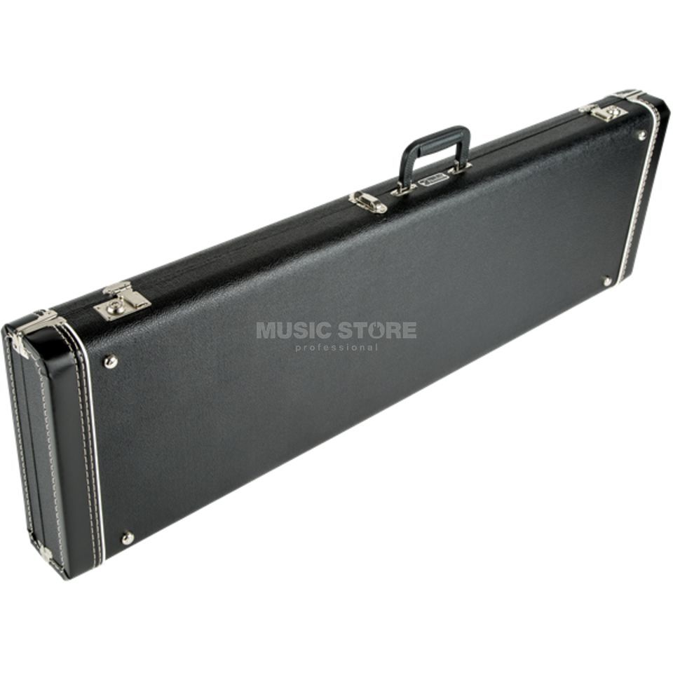 Fender case MultiFit Bronco/Mustang zwart with zwart Plush Productafbeelding
