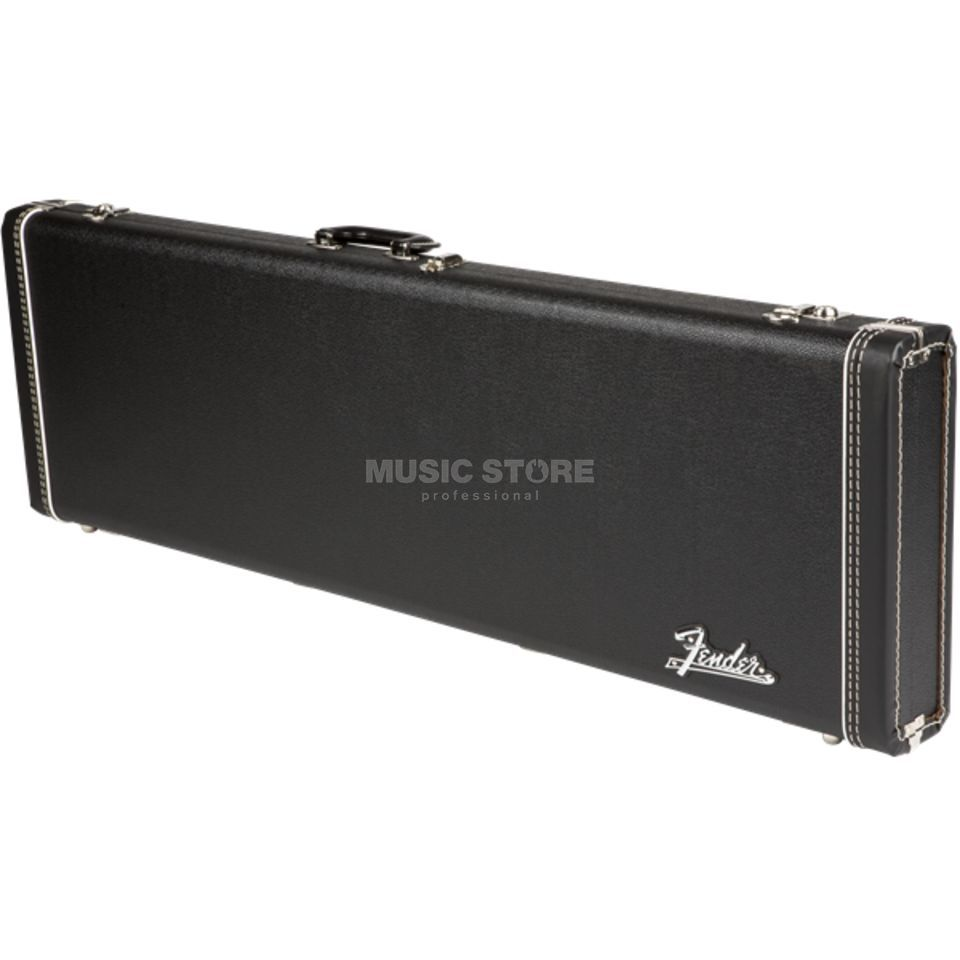 Fender Case MultiFit Hardshell P-Bass Black with Orange Plush Zdjęcie produktu
