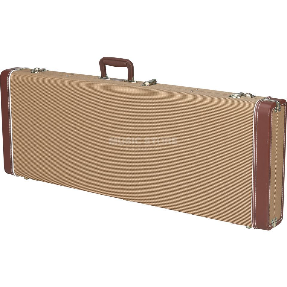 Fender Case Pro Series P+J-Bass Tweed Woodcase Tweed Produktbild