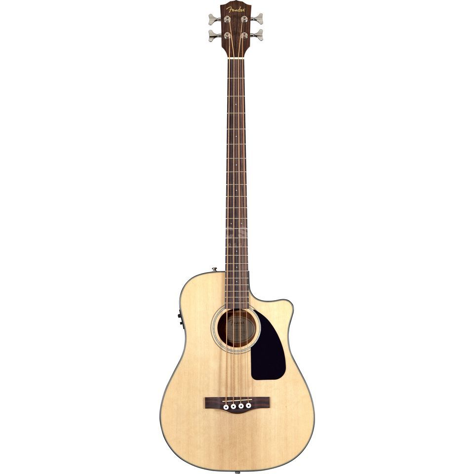 Fender CB-100CE Acoustic bas RW NAT Natural Productafbeelding
