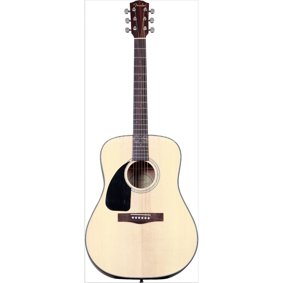 Fender CD-100 LH Left Handed Acoustic  Guitar, Satin Natural   Produktbillede