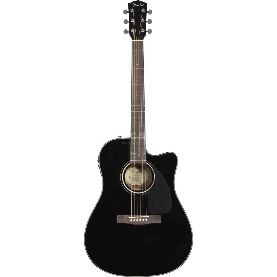 Fender CD-140SCE Black Satin Produktbild