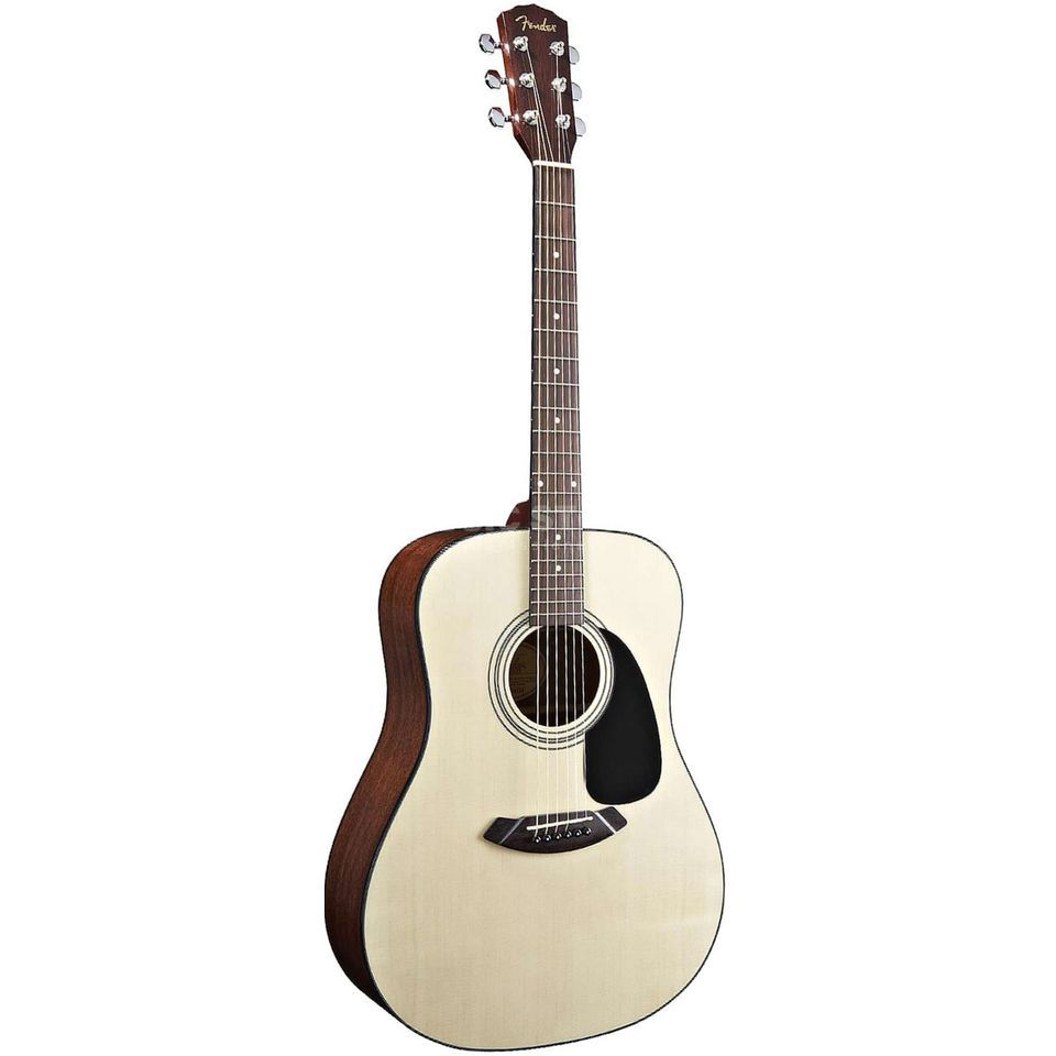 Fender CD 60 Pack Acoustic Guitar Pac k, Natural   Produktbillede