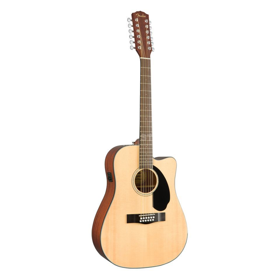 Fender CD-60SCE-12 12-String Natural Productafbeelding
