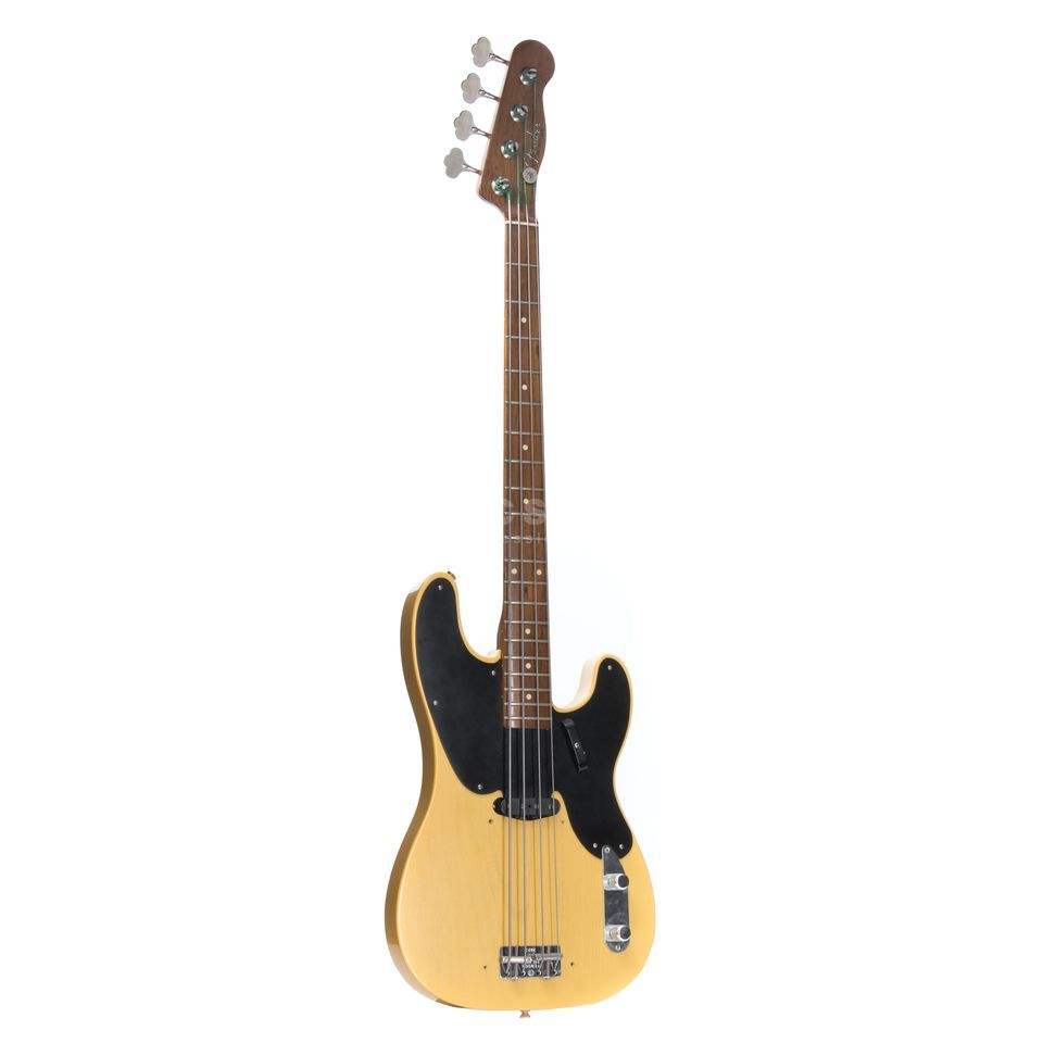 Fender CS '51 P-bas Walnut Neck NBL Nocaster Blonde, S#:2823 Productafbeelding