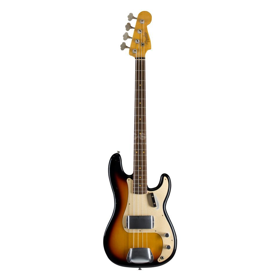 Fender CS '59 P-Bass Journeyman Relic Faded 3-Tone-SB, S#:R79308 Produktbillede