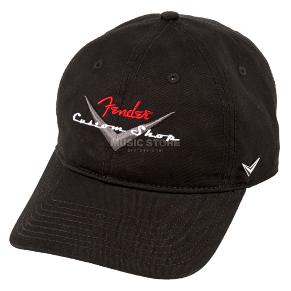 Fender Custom Shop Baseball Hat Black Product Image