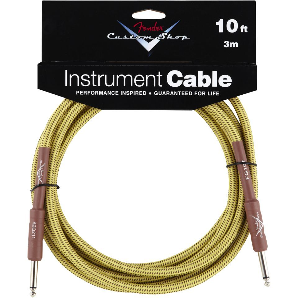 Fender Custom Shop Cable 3m TW Tweed, Kli/Kli Produktbild