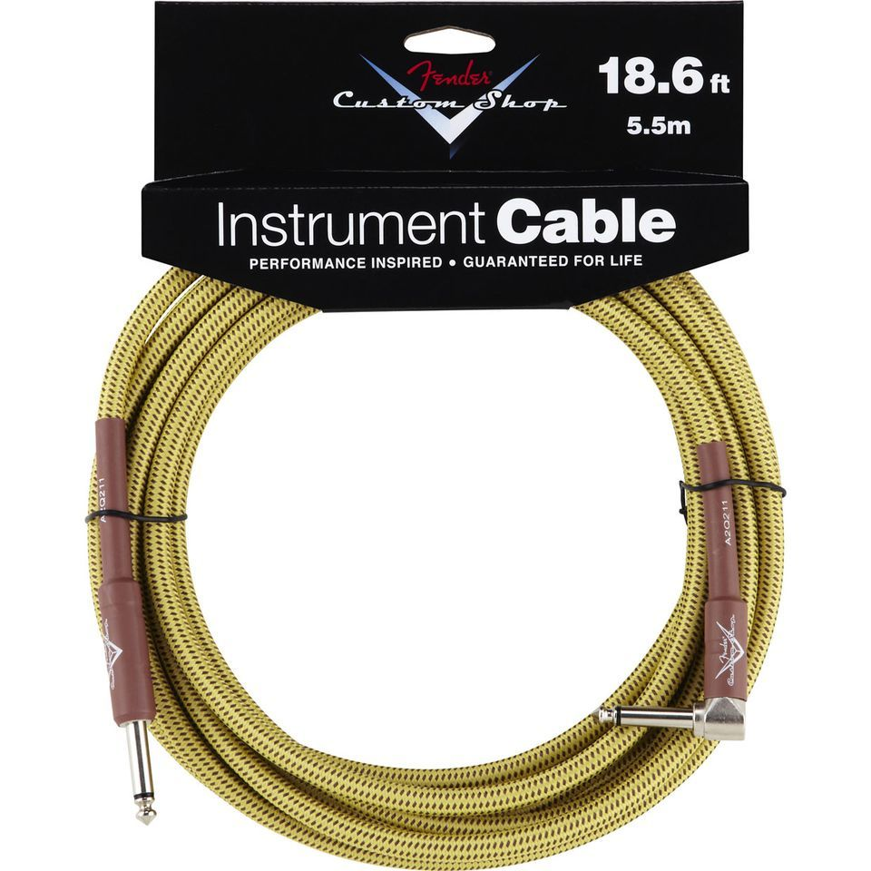 Fender Custom Shop Cable 5,5m TW Tweed, Kli/WKli Produktbild