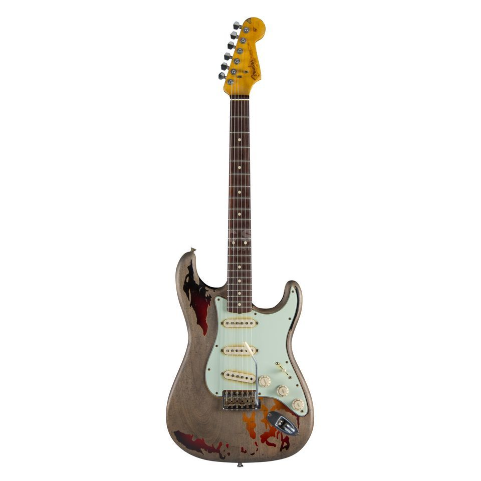 Fender Custom Shop Rory Gallagher Relic Stratocaster 3-Color Sunburst Produktbild