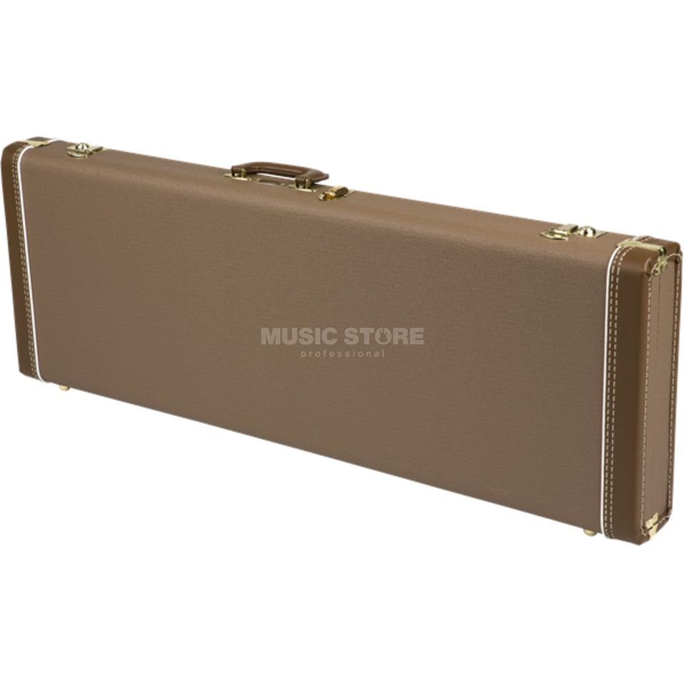 a45f021a4b Fender Deluxe Hardshell Case Tolex Brown Tolex, Strat/Tele Product Image