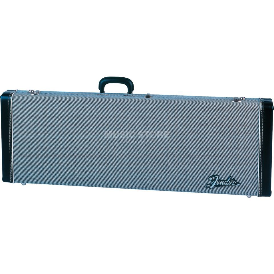 Fender Deluxe Hardshell Case Tweed Black Tweed, Strat/Tele Produktbild