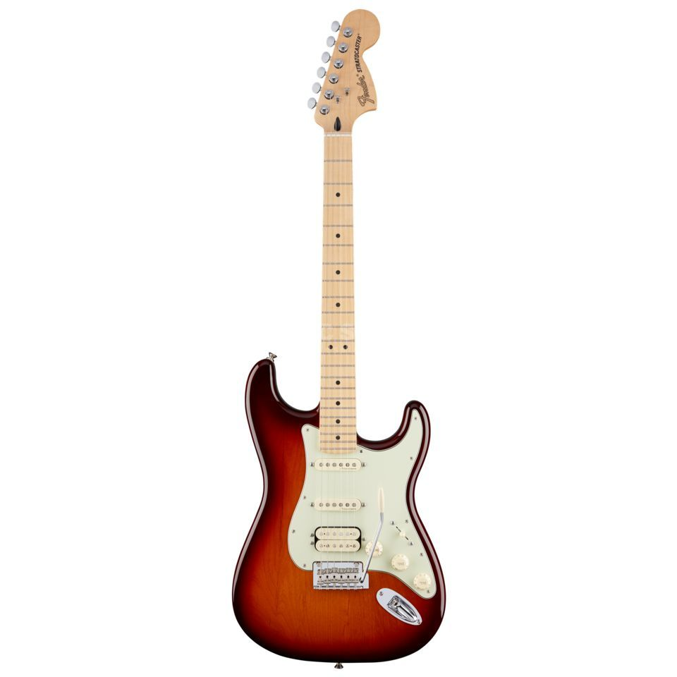 Fender Deluxe Stratocaster HSS MN TBS Tobacco Sunburst Product Image