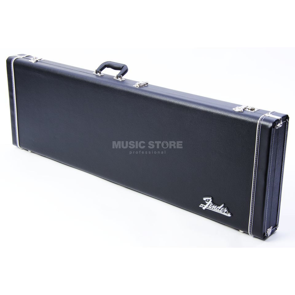 Fender Etui Pro Series P+J-Bass Black Woodcase Black Tolex Image du produit
