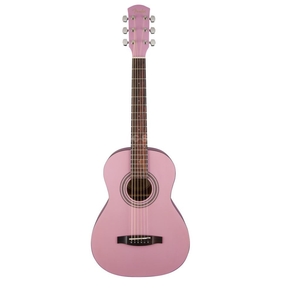 Fender FSR MA-1 3/4 Steel Gloss Pink Product Image