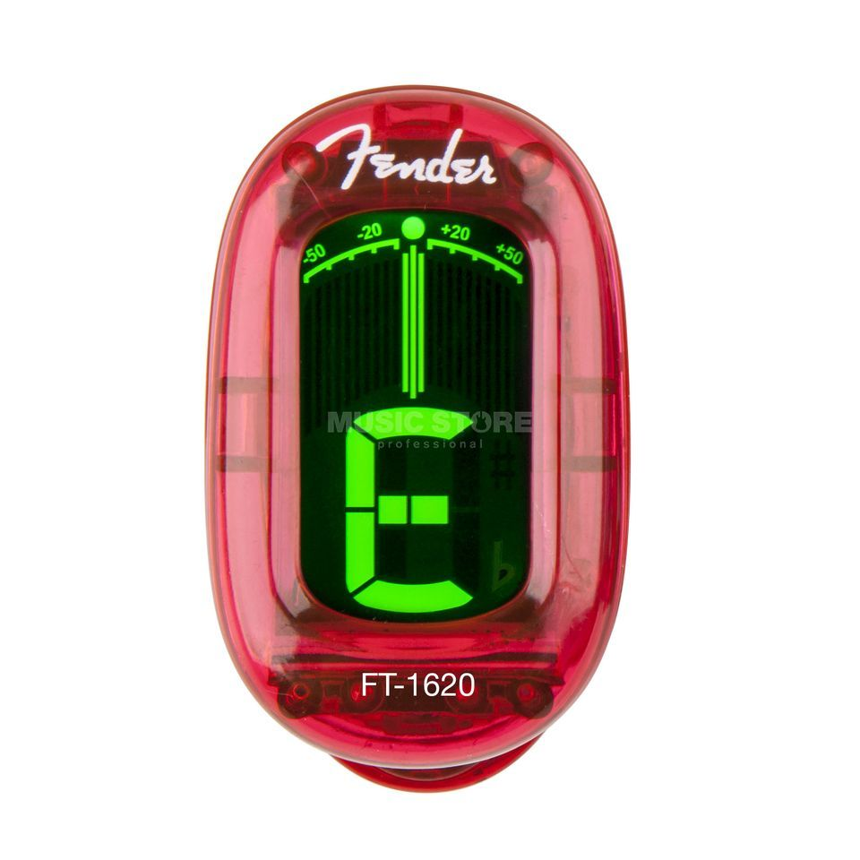 Fender FT-1620 Clip-on Tuner CAR California Series Produktbillede