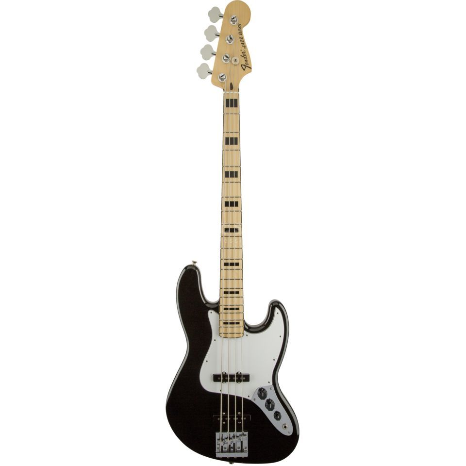 Fender Geddy Lee Jazz Bass, Black    Product Image