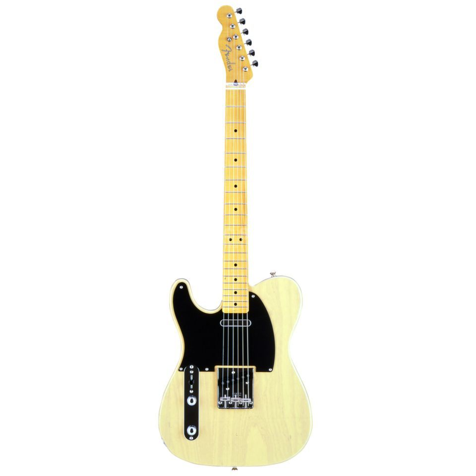 Fender Japan Limited Classic '50s Telecaster MN Lefthand Off-White Blonde Produktbild