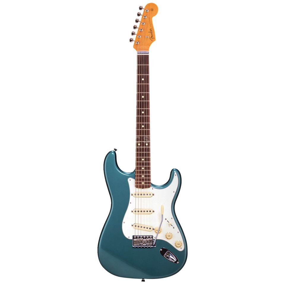 Fender Japan Limited Classic '60s Strat RW Ocean Turquoise Metallic Produktbillede