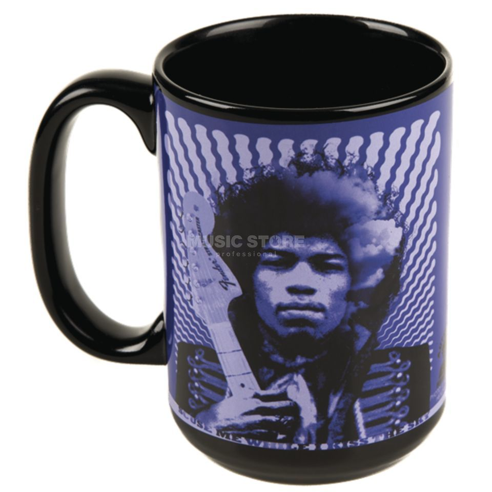 Fender Jimi Hendrix Kiss the Sky Mug Product Image