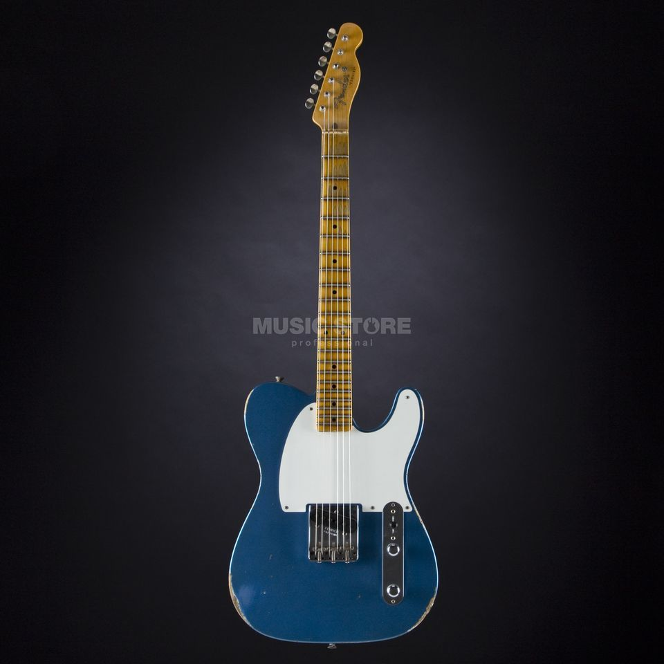 Fender Limited Edition 1955 Esquire Relic Aged Lake Placid Blue, #CZ525166 Produktbillede