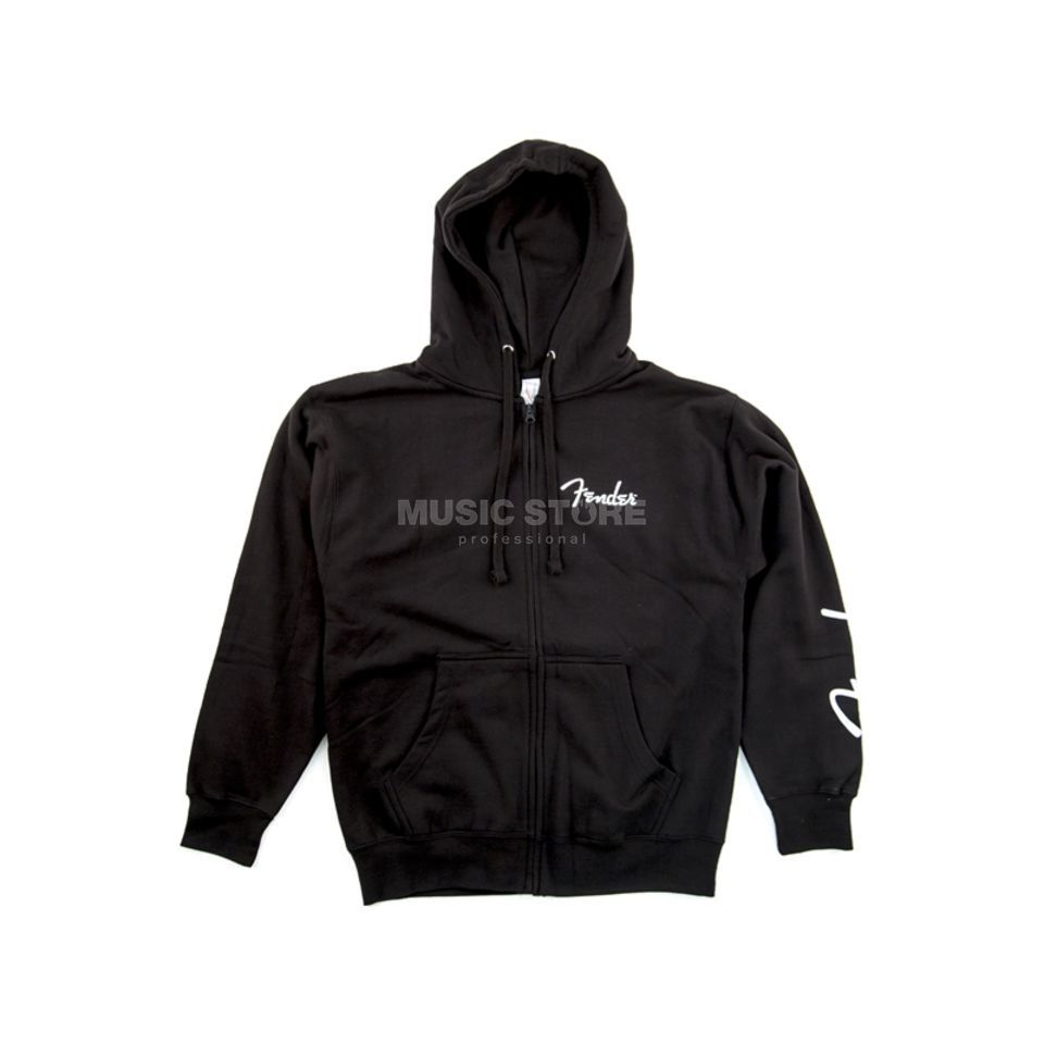 Fender Men's 1946 Zip Hoodie M black Produktbild