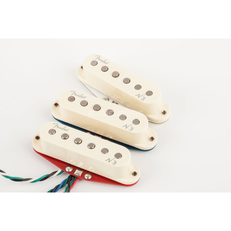 Fender Noiseless N3 Strat Set White Covers Produktbild