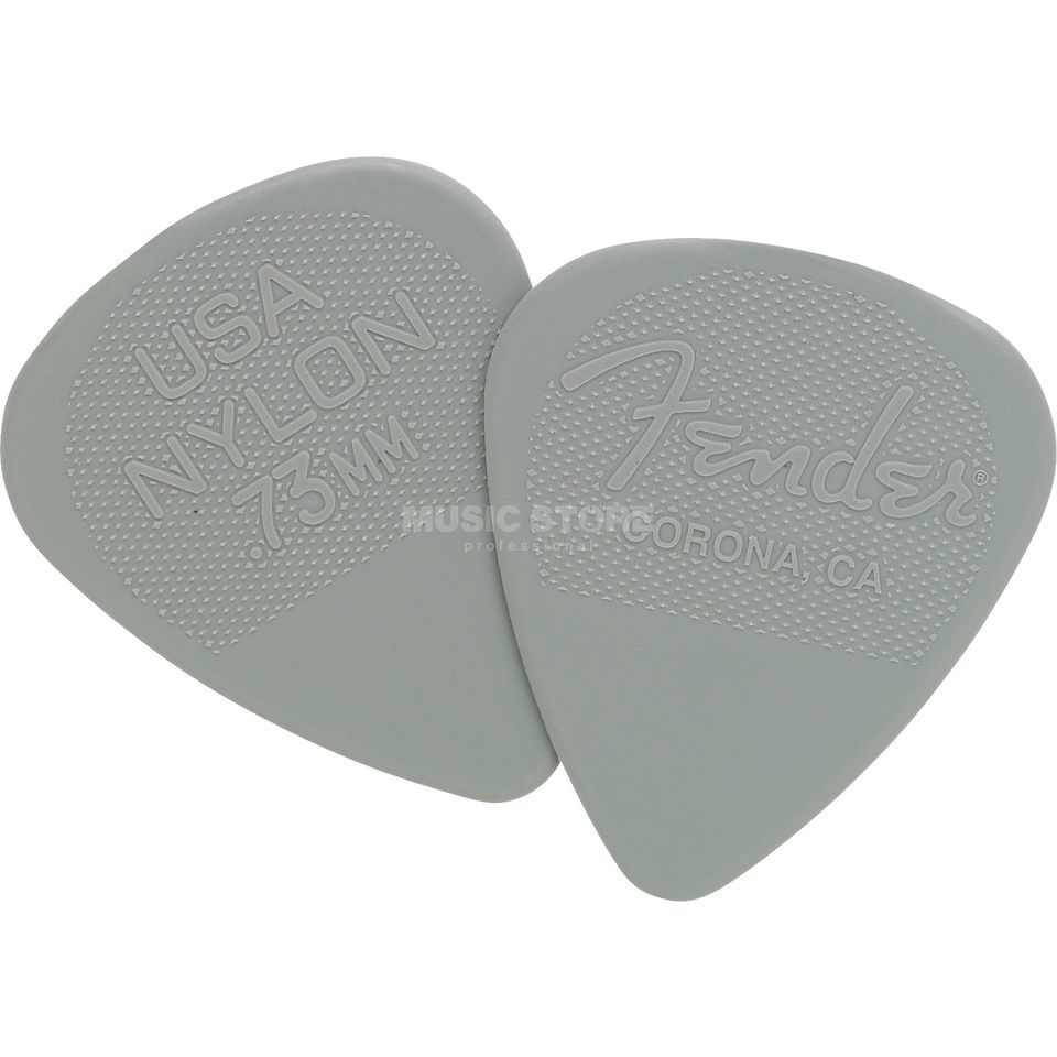 Fender Nylon Pick 12-Pack 0,73  Produktbillede