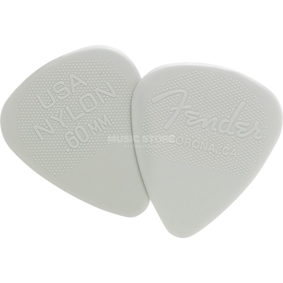 Fender Nylon Picks 12er Set 0,60 Produktbild