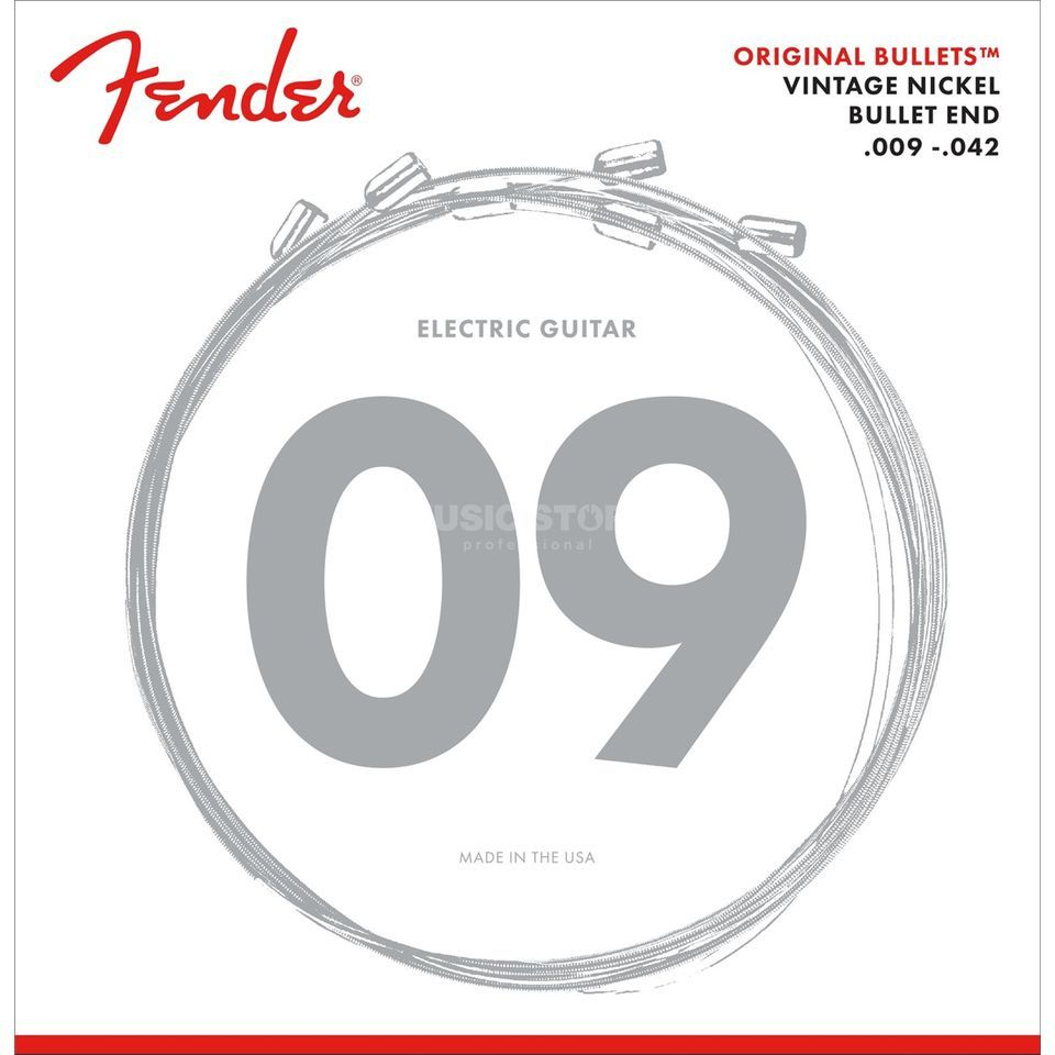 Fender Original Bullets 3150L Electri c Guitar Strings   Produktbillede