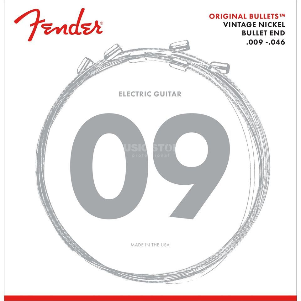 Fender Original Bullets 3150LR Electr ic Guitar Strings   Produktbillede