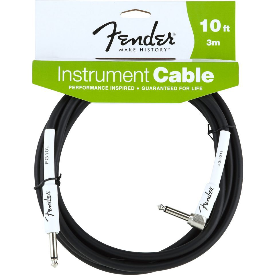 Fender Performance Cable 3m BK Black, Kli/WKli Produktbillede