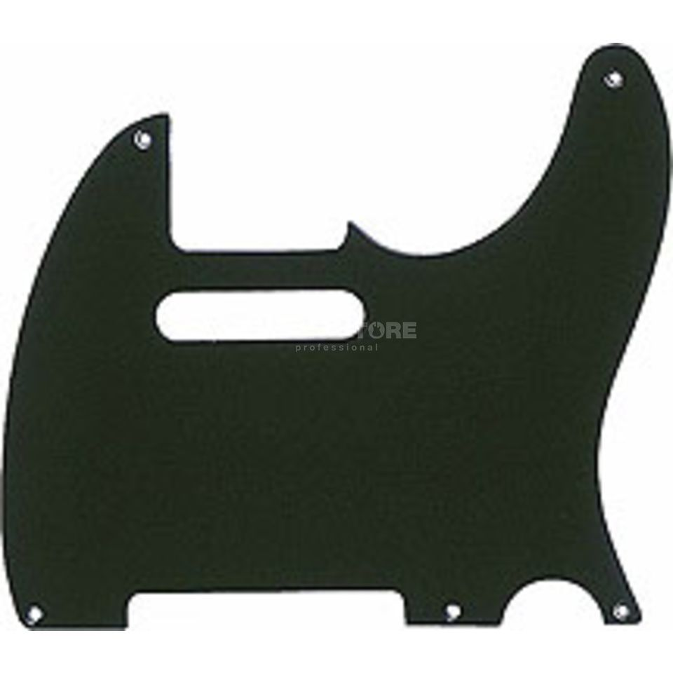Fender Pickguard Tele 52 Vintage Black 1-Ply Product Image