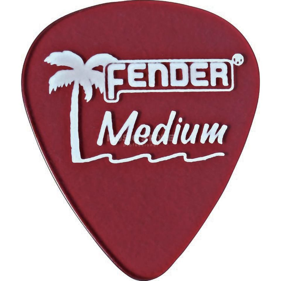 Fender Picks 351 California CAR med 12er Set California Clear Produktbild