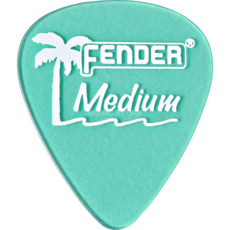 Fender Picks 351 California SG med 12-Pack California Clear Produktbillede